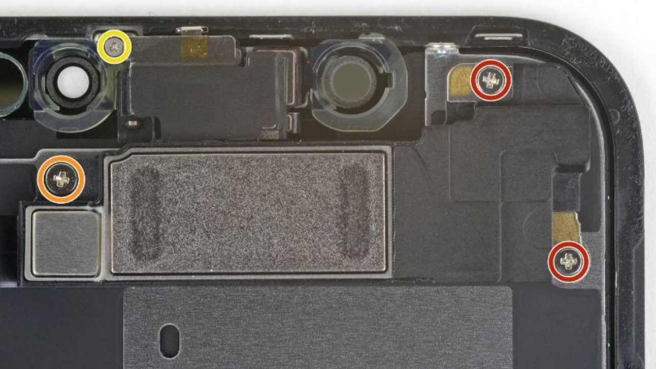 front sensor assembly of iphone xr